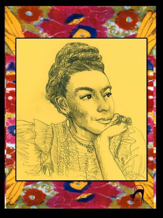 Frida Kahlo by catinon